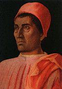 "New artwork for sale! - "" Portrait Of The Protonary Carlo De Medici  by Andrea Mantegna "" - http://ift.tt/2o0pptm"