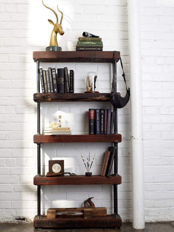 Attractive Modern Rustic Wall Shelves | Dan Faires Of HGTV Came Up With This Stunning  DIY Industrial