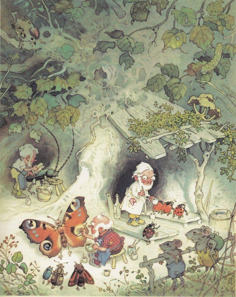 картинки для сказок о гномах эльфах и лилипутах пруды популярное