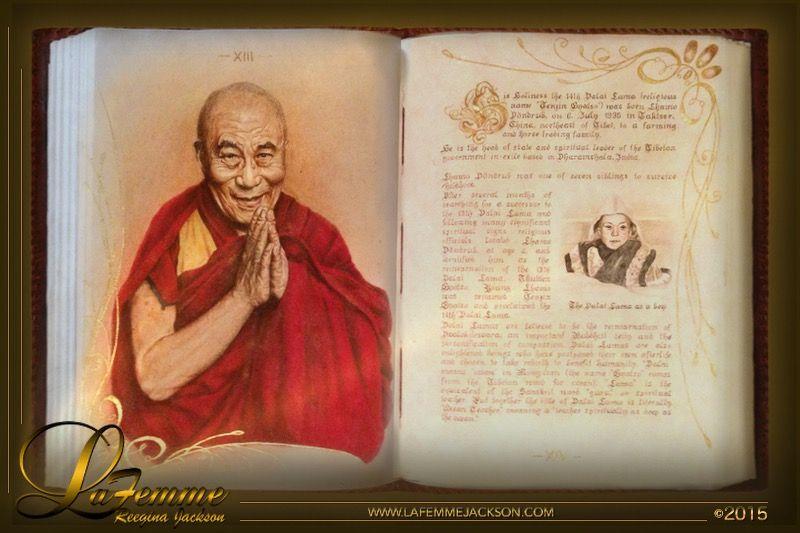 Book immortal inspiring souls page xiii xiv dalai