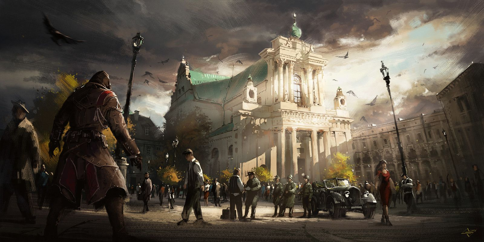 Assassin's Creed Uprising 44', Michał Sztuka on ArtStation at https://www.artstation.com/artwork/Xdoq3