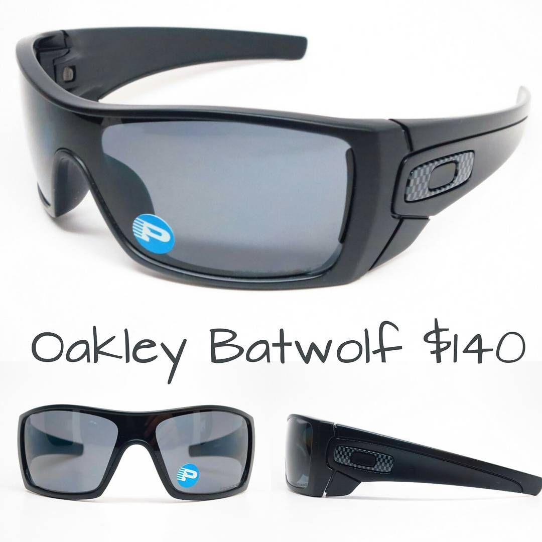oakley batwolf polarizzati