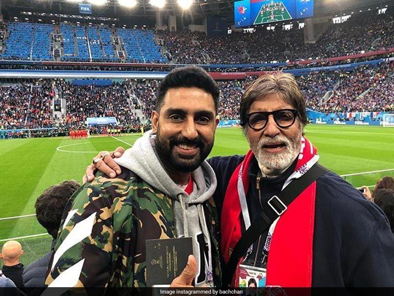 Amitabh Bachchan And Mukesh Ambani Spotted At SemiFinals