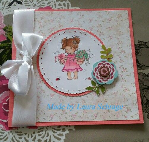 Simpel card with whimsy stamp