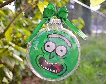 Rick And Morty Christmas Ornaments.Rick And Morty Pickle Rick Christmas Tree Ornament Wired