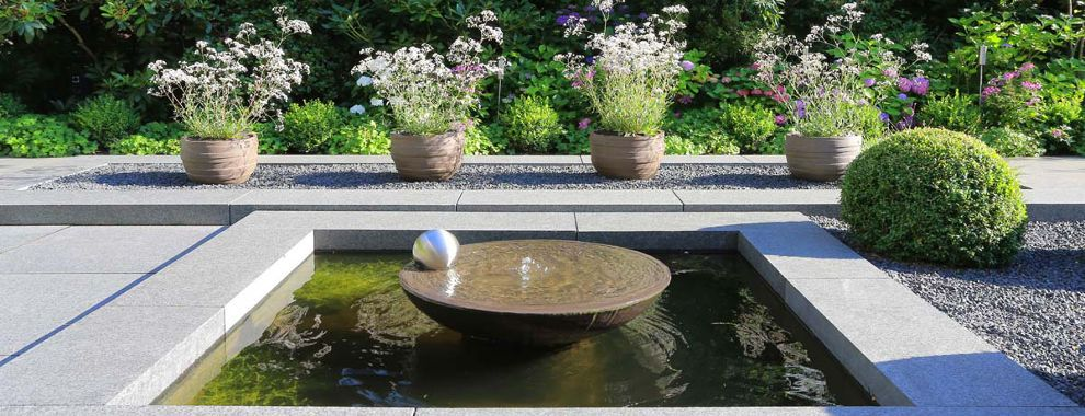 august fichter gmbh wasser im garten garden design pinterest. Black Bedroom Furniture Sets. Home Design Ideas