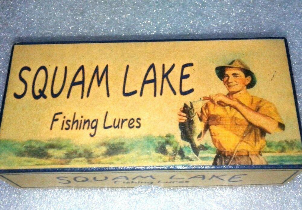 Squam Lake fishing lure box Center Harbor New Hampshire