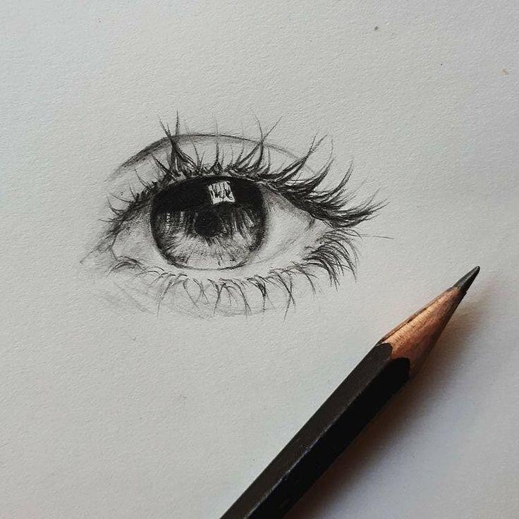 20 Amazing Eye Drawing Ideas & Inspiration – {hashtag} – #ArtSketches