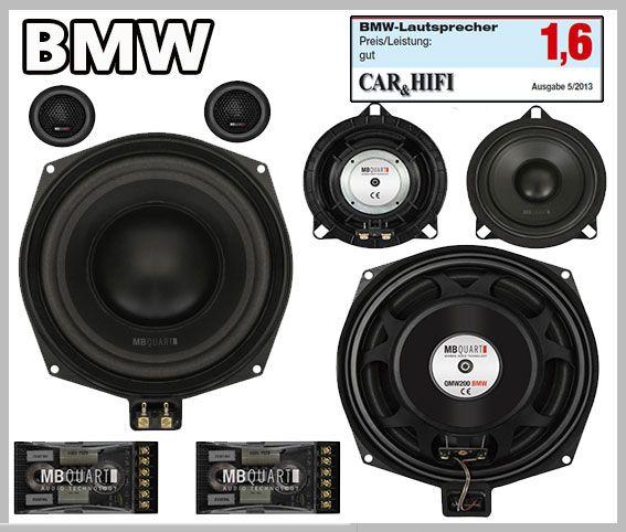 BMW E81 car speakers tweeter & subwoofer upgrade kit 3-door http ...