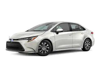 2020 Toyota Corolla Hybrid Sedan Toyota Corolla Sedan Toyota