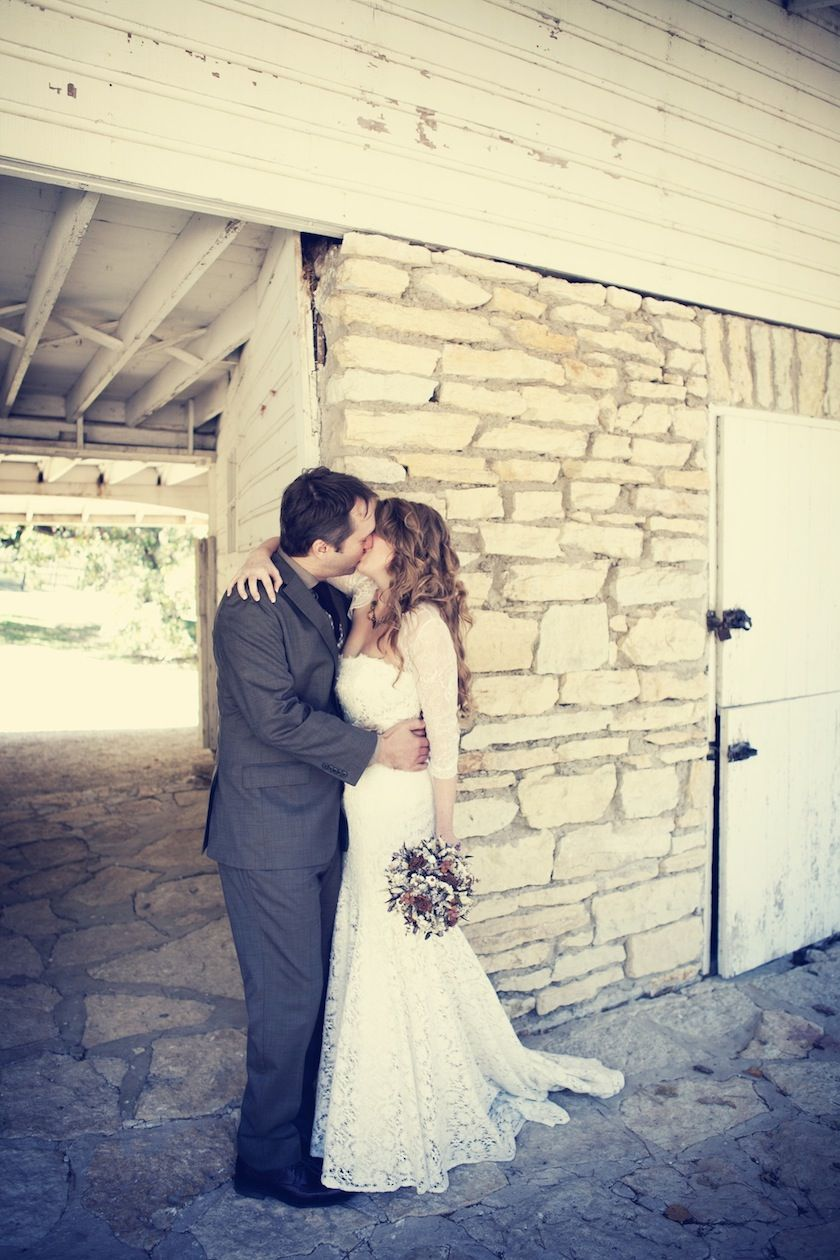 Blue camo wedding dresses  A vintage country wedding for this beautiful couple Photo by