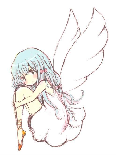 Little Angel Con Imagenes Anime Angel Dibujos Dibujos Chibi