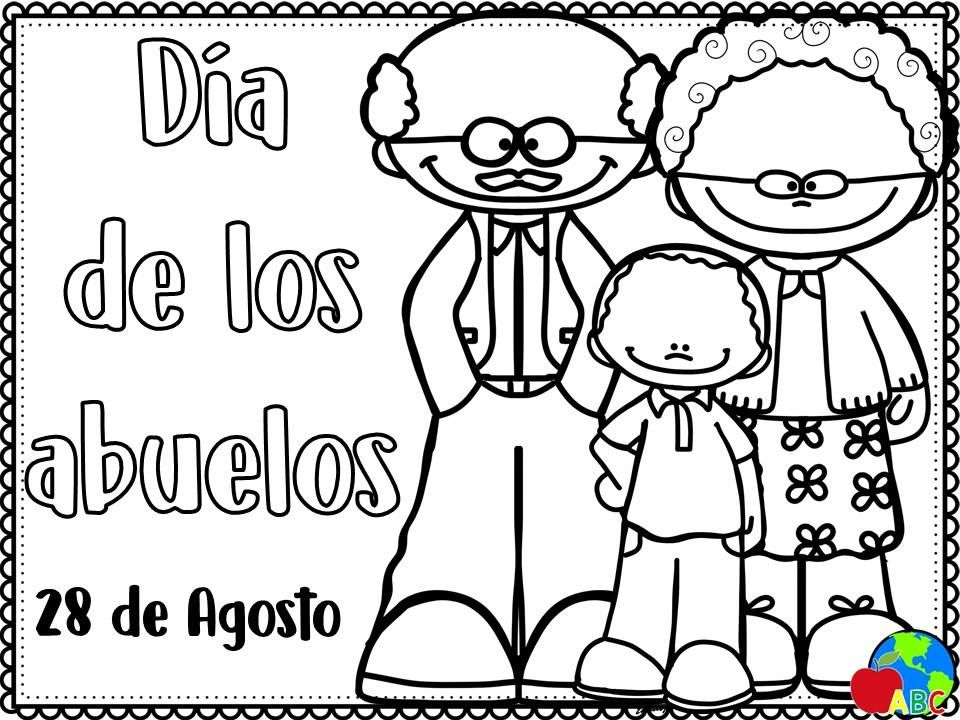 Imprimibles Para El Dia De Los Abuelos Dia Del Abuelo Hojas De Ejercicios Para Ninos Abc