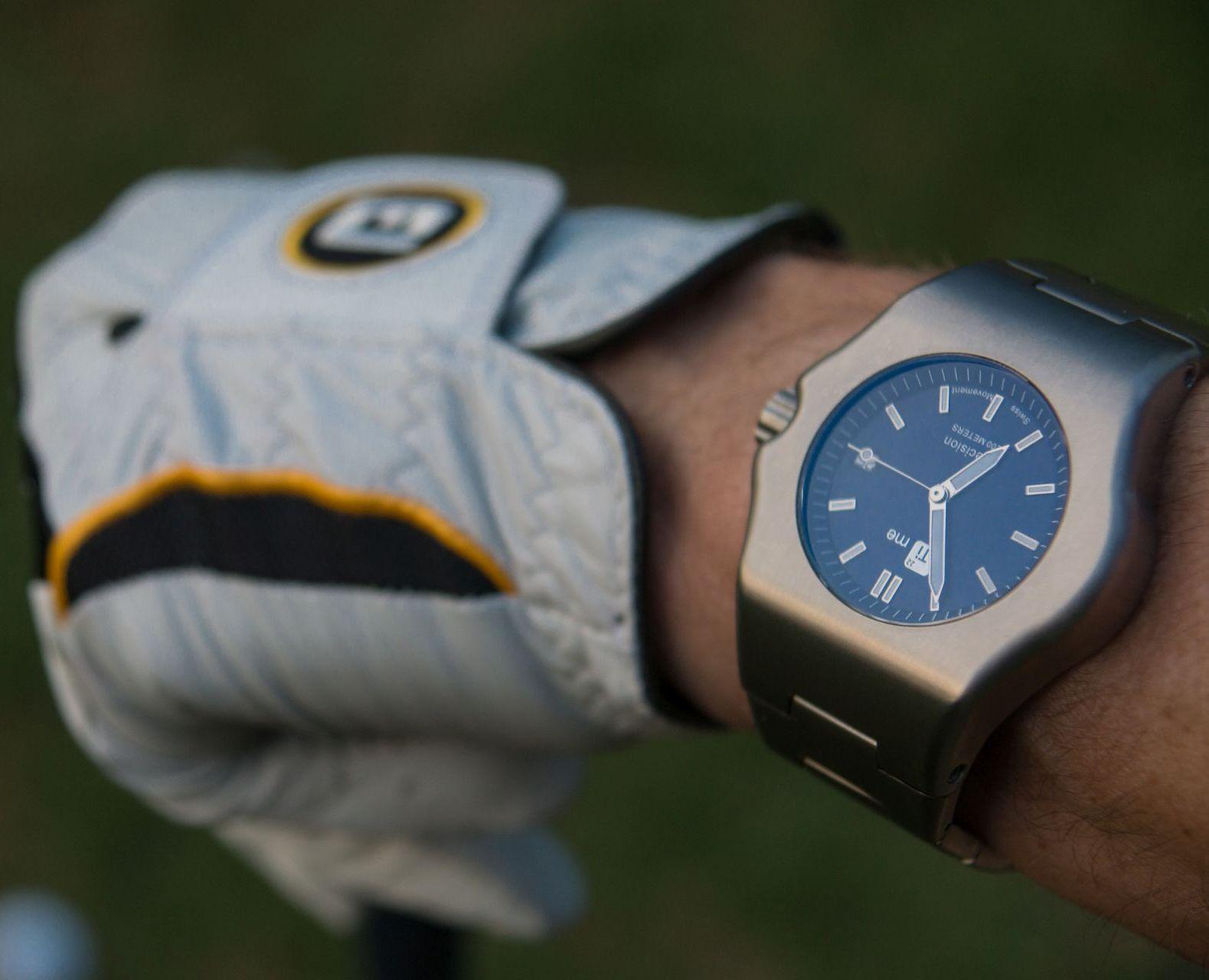 TiMe22 Robusto Titanium Watch