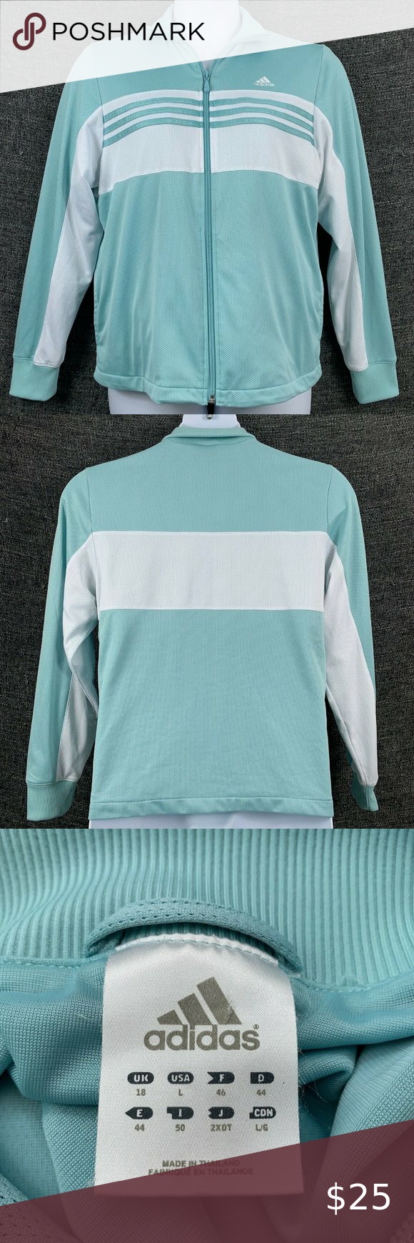 Adidas Large Sweatshirt Zip Up Light Blue White Adidas Women S Sweatshirt Light Blue And White Mesh Zi Adidas Sweatshirt Women Sweatshirts Women Zip Sweatshirt [ 1740 x 580 Pixel ]