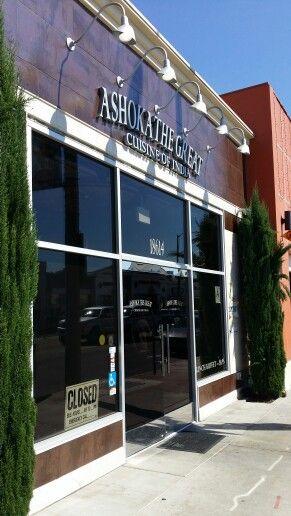 Great Indian Restaurant In Artesia On Pioneer Blvd Ashoka The Great Restaurant Door Artesia Outdoor Decor