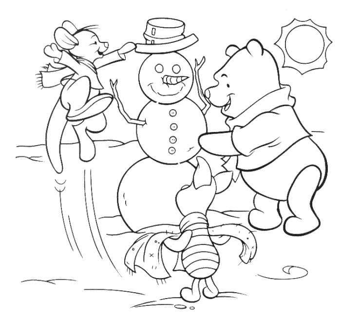 DISNEY COLORING PAGES Silly Old Bear Pinterest Coloring books - new dora christmas coloring pages free printable