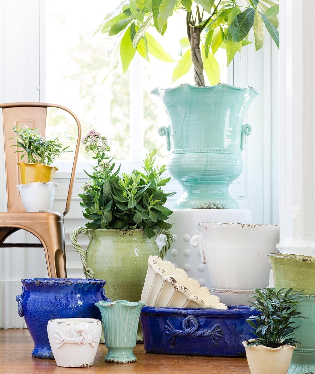 """138 Likes, 4 Comments - VIETRI, Inc. (@vietriinc) on Instagram: """"In full bloom! Fresh pieces with a sunny spring outlook - and no green thumb required."""""""