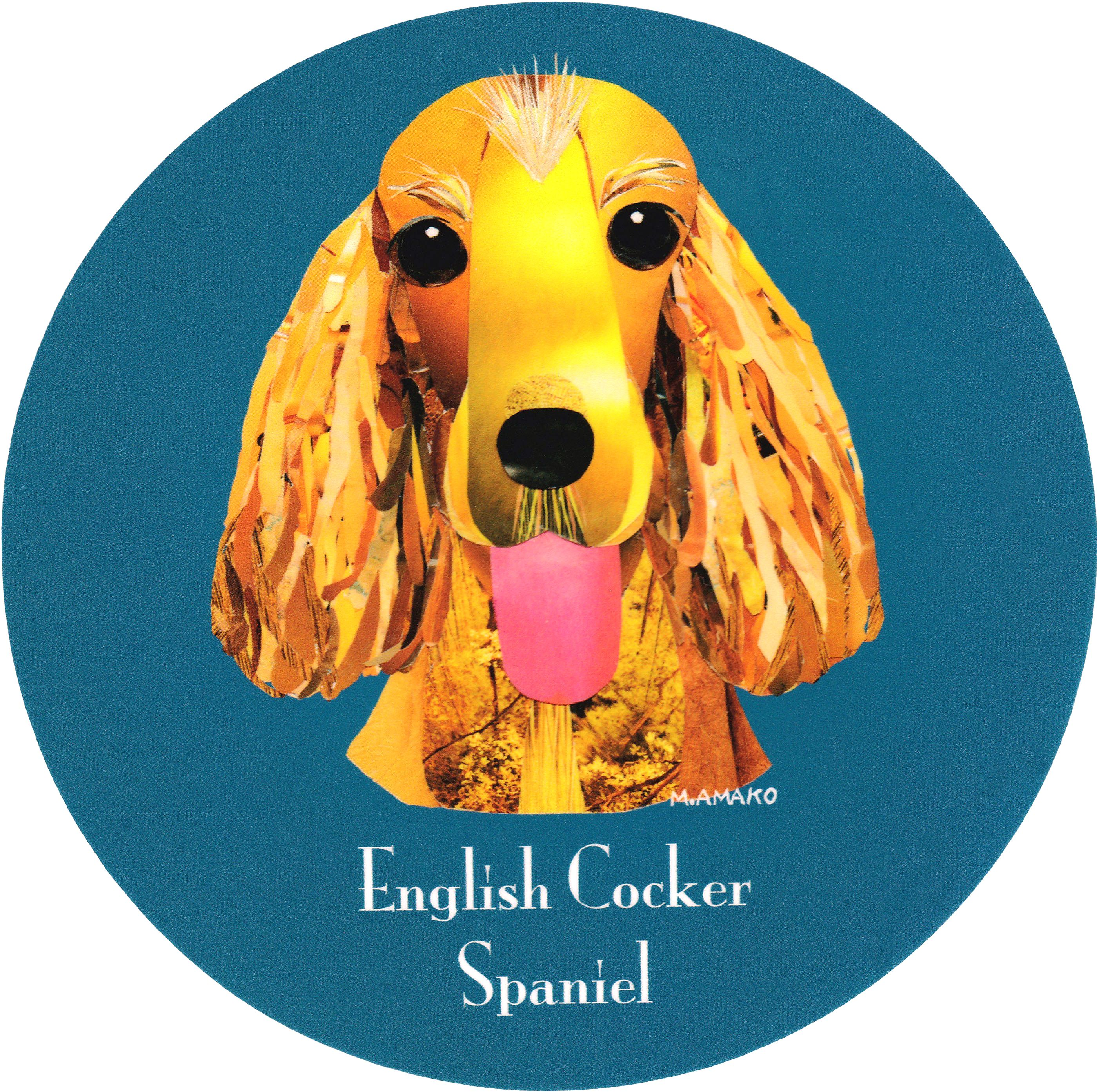 マイ @Behance プロジェクトを見る : 「008 | English Cocker Spaniel」 https://www.behance.net/gallery/42195099/008-English-Cocker-Spaniel