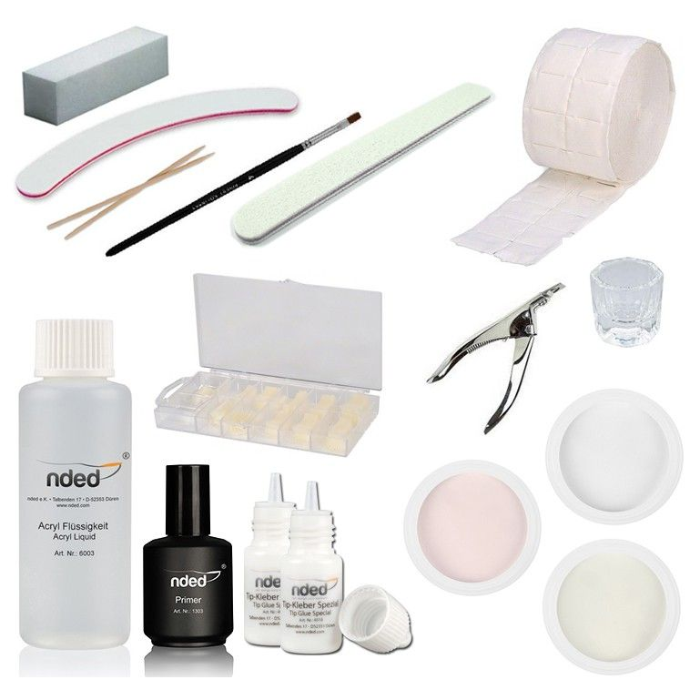 kit reconstruction ongles