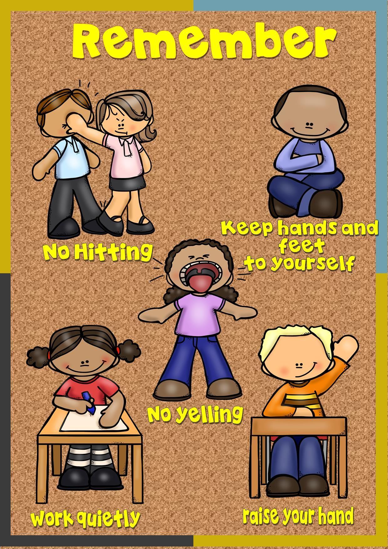 Social Story, NO HITTING with Social Skill Activities ...