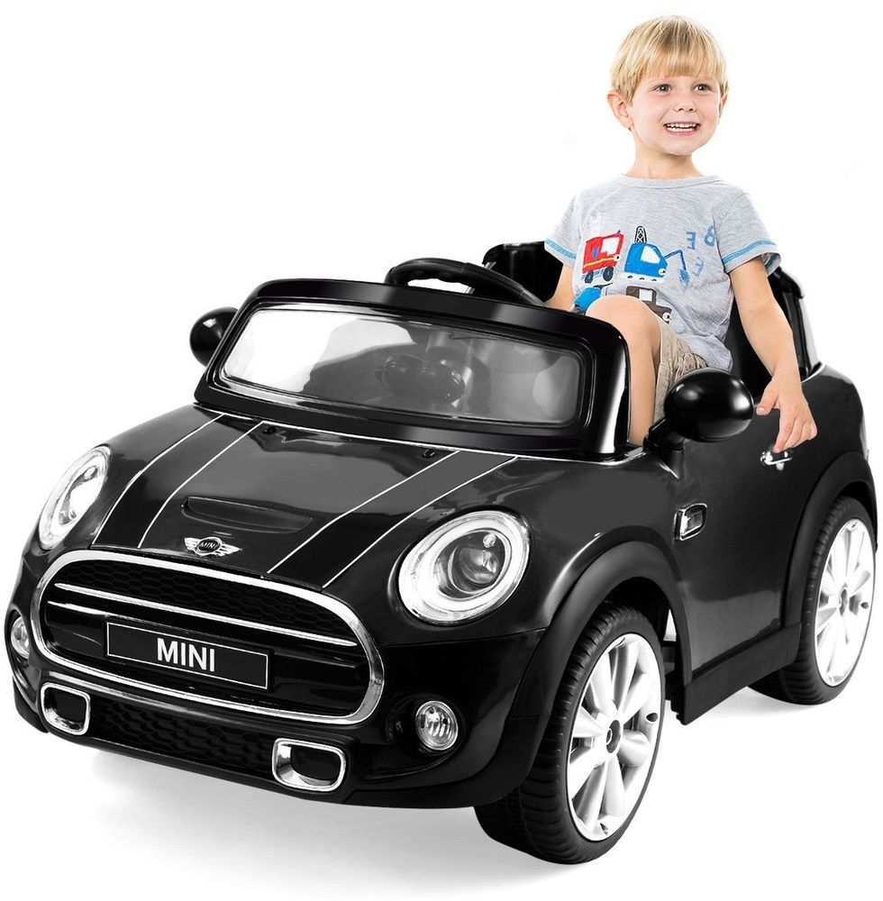 Jeep car toys  Kids Ride On Car Toys MINI Hatch V Electric Licensed MP RC Remote