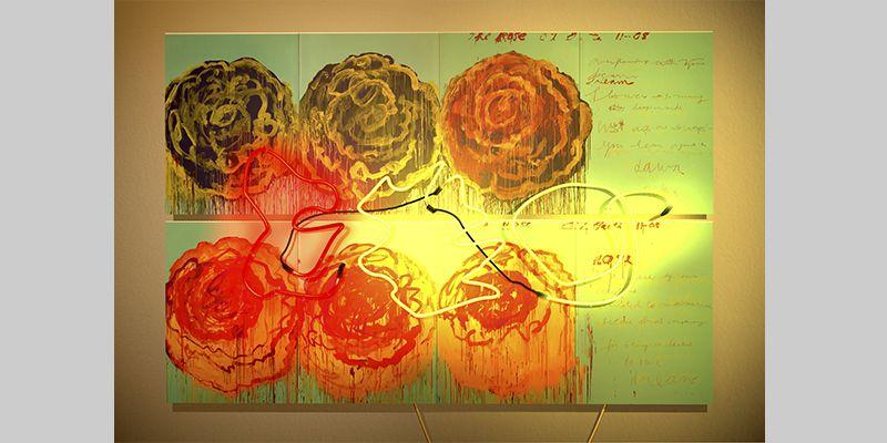 DELETREANDO A CY TWOMBLY (6). YENY CASANUEVA Y ALEJANDRO GONZALEZ. PROYECTO PROCESUAL ART