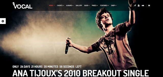 Clubix - Nightlife, Music  Events WordPress Theme Website