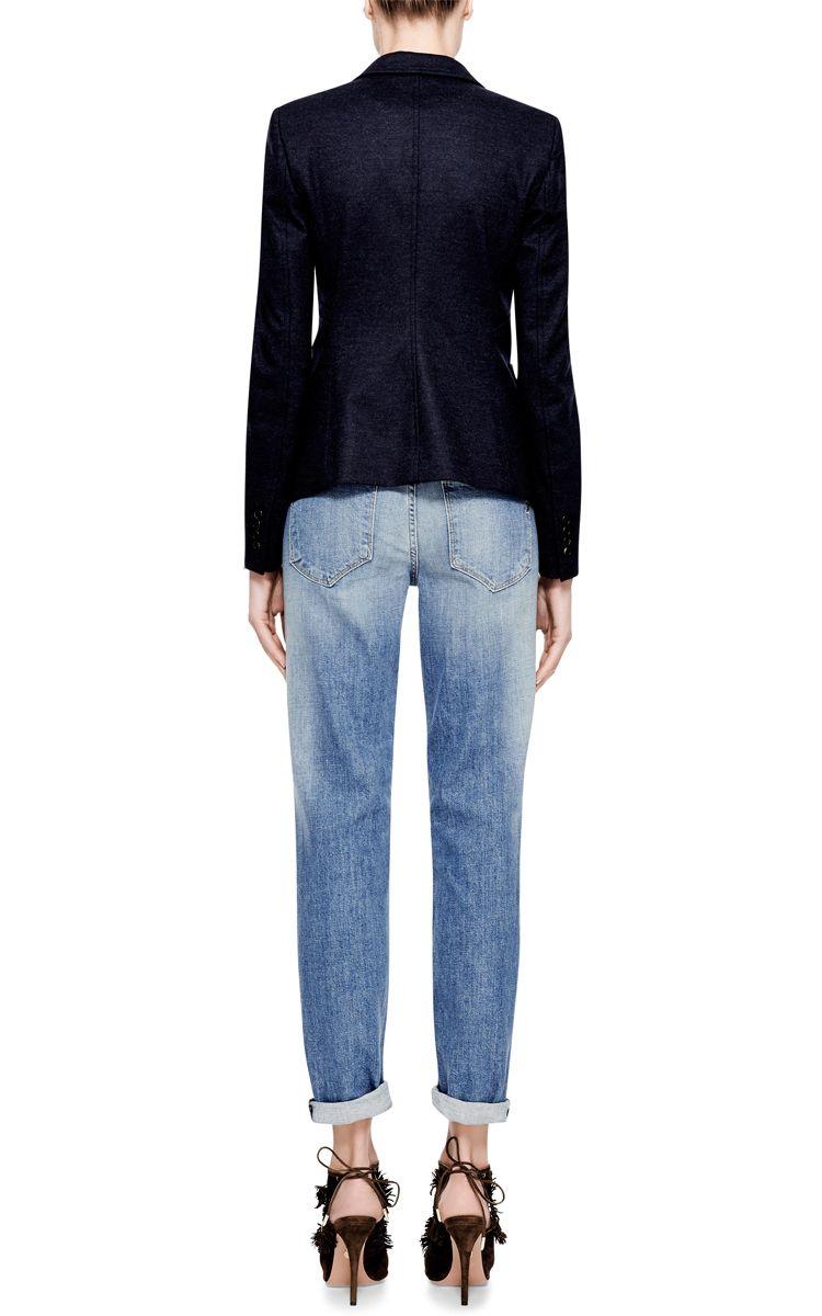 Gia High-Rise Boyfriend Jeans by Genetic Los Angeles - Moda Operandi