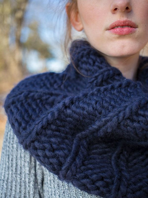 Berroco Macro Ima Cowl Knitting Pattern Pdf 378 Pinterest Knit