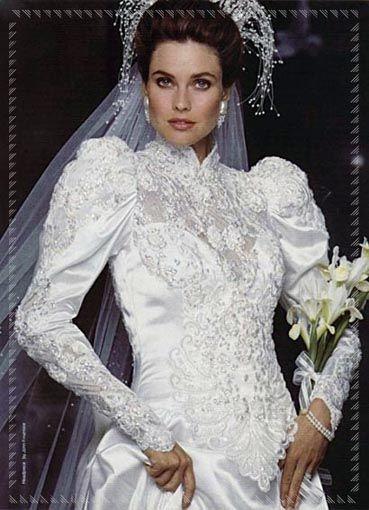 Abiti Da Sposa Degli Anni 90.Abito Da Sposa Ricamato Anni 80 Abiti Da Sposa Ricamati Abiti