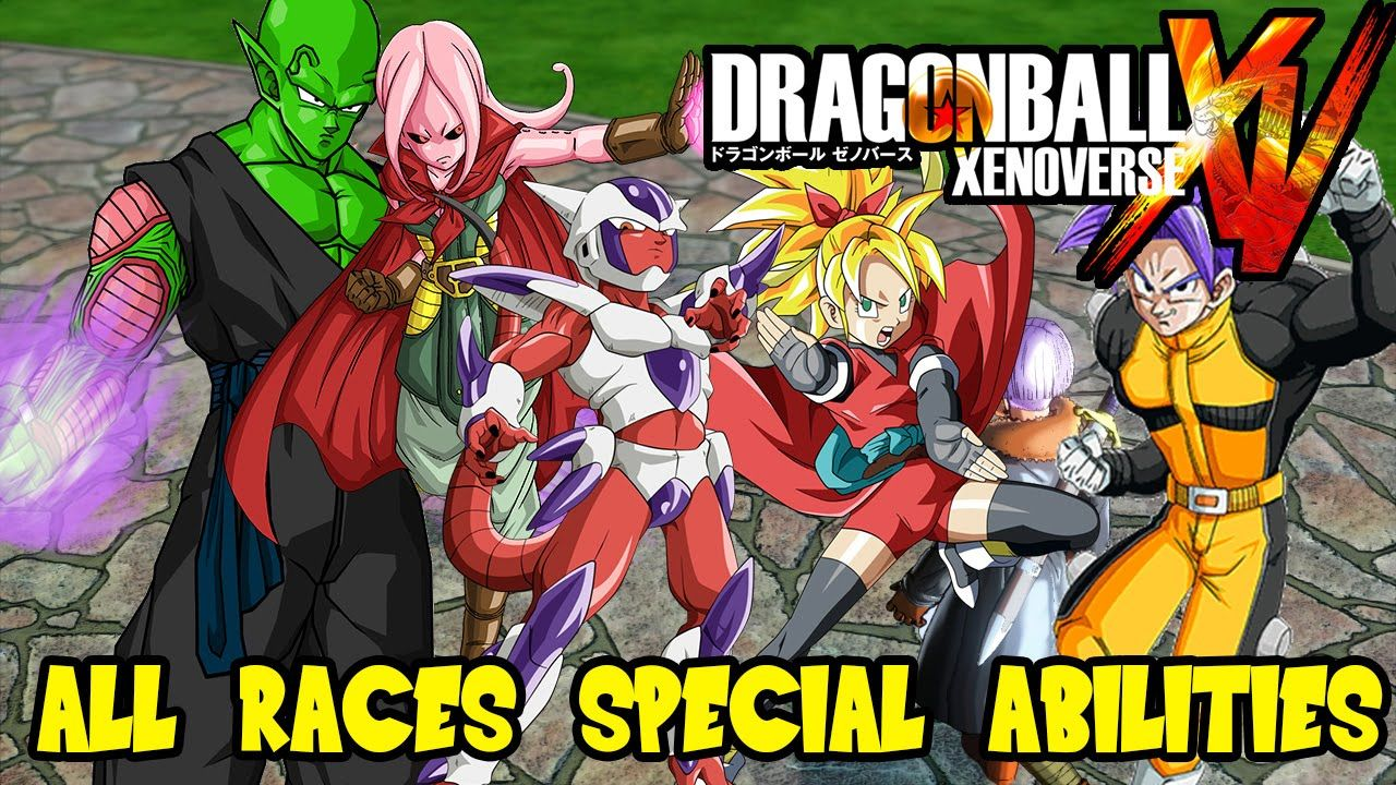 Dragon Ball Xenoverse All Races Attributes Abilities Saiyan