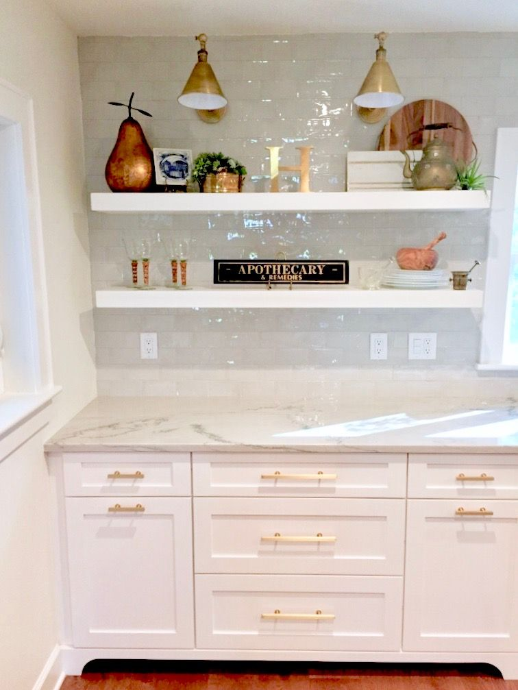 Cramped Dated Kitchen Becomes BRIGHT and OPEN