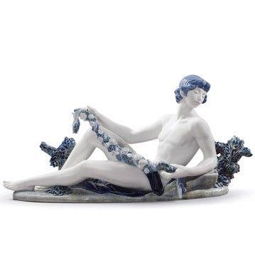 01008743  GOD APOLLO   Issue Year: 2013  Sculptor: Salvador Debón  Size: 27x55 cm