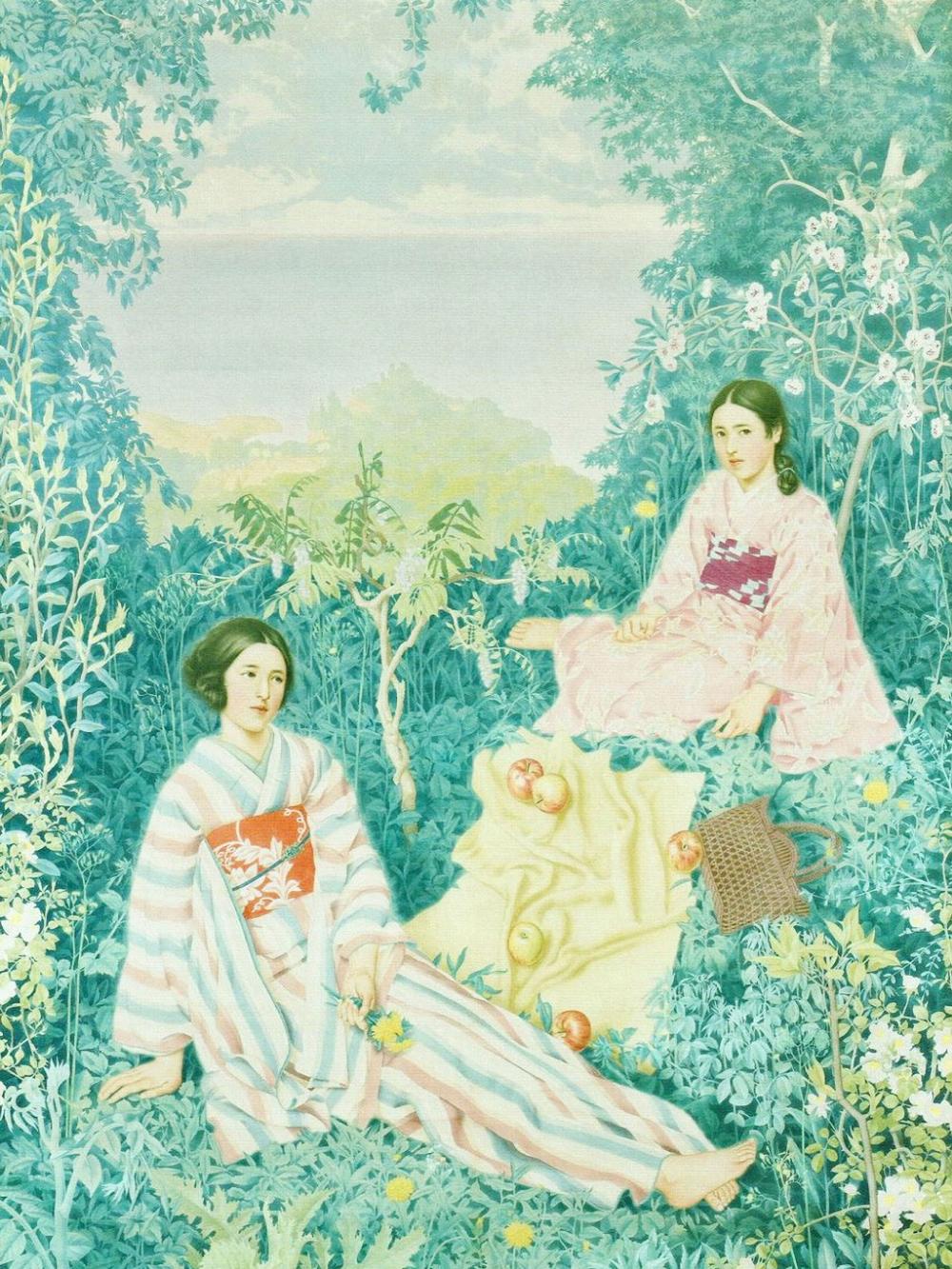 水谷道彦 春 Mizutani Michihiko Spring 2048 2732 壁紙