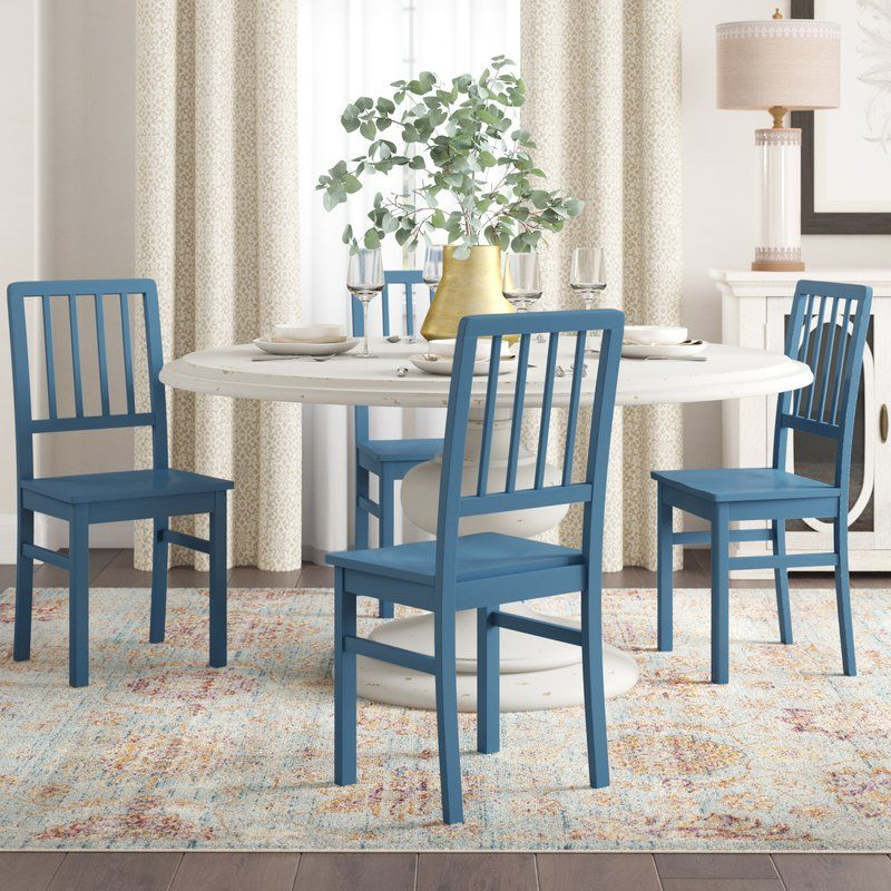 One Allium Way Carolina Solid Wood Dining Chair Reviews Wayfair Dining Chairs Solid Wood Dining Chairs Wood Side Chair