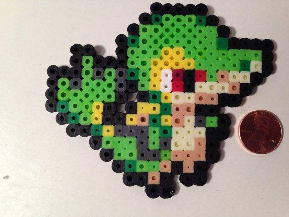 Sprite Pokemon Starter : Unys Gruikui / Vipélierre / par Toriroz