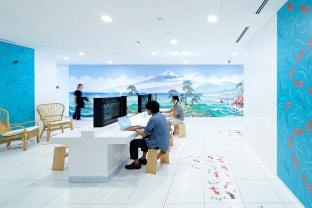 japanese office design. Google\u0027s Tokyo Office Celebrates Best Of Japanese Design [Pics