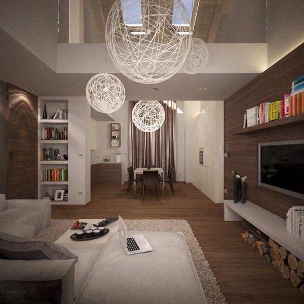 Living Room Mesh Light Shades | Apartment Ideas | Pinterest | Small ...
