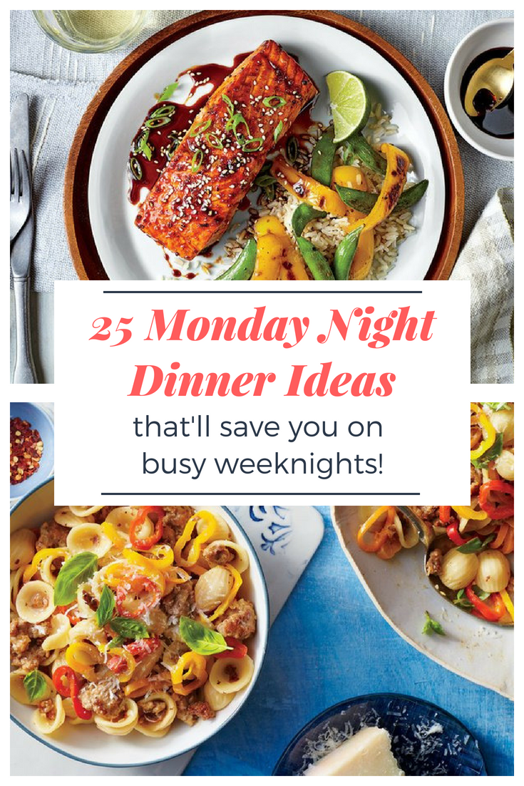 Delicious Dinners That Will Save Your Monday Night Dinner Night Dinner Dinner Recipies