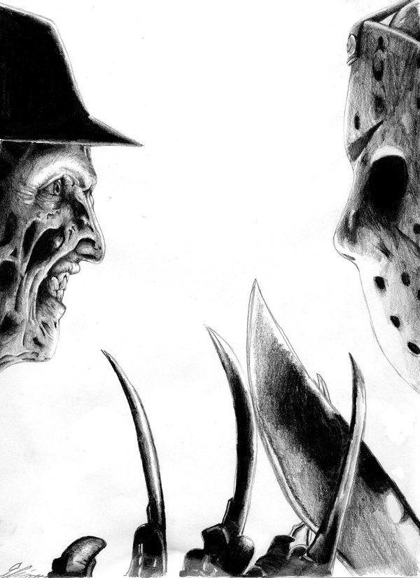 Freddy Vs. Jason by ~UBob on deviantART   Dessins   Pinterest ...