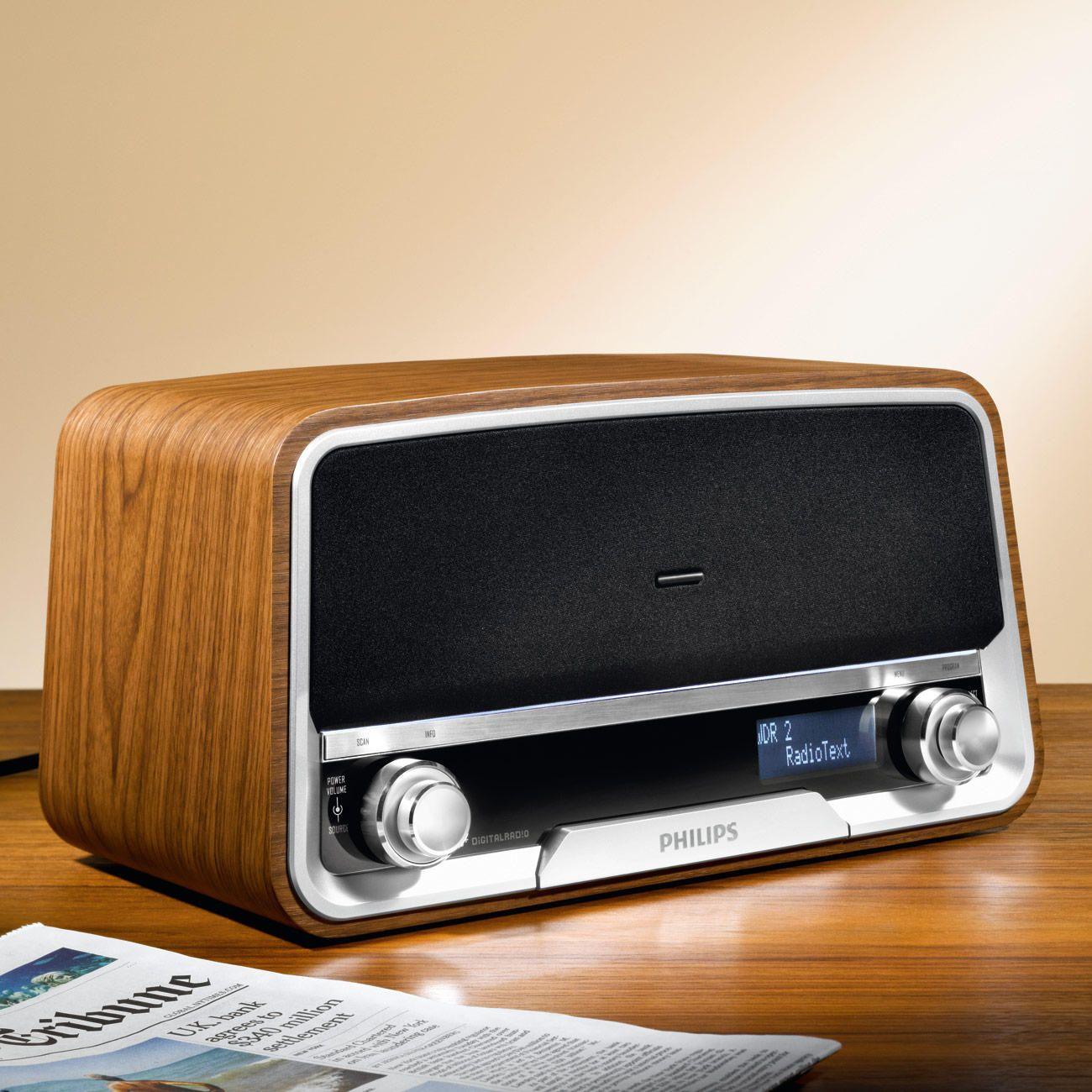 philips retro radio ord7300 goedkoop online kopen nice. Black Bedroom Furniture Sets. Home Design Ideas