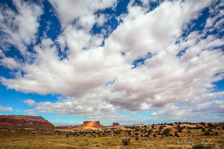 Desert Wall Art, Utah Landscape Canvas, Navajo Print, Canyonlands Large Print, Desert Cloud Print, Large Canvas, Cloud Print, Fine Art Print by SusanTaylorPhoto on Etsy