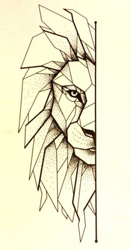 Photo of Tattoo lion line drawings 40 New ideas