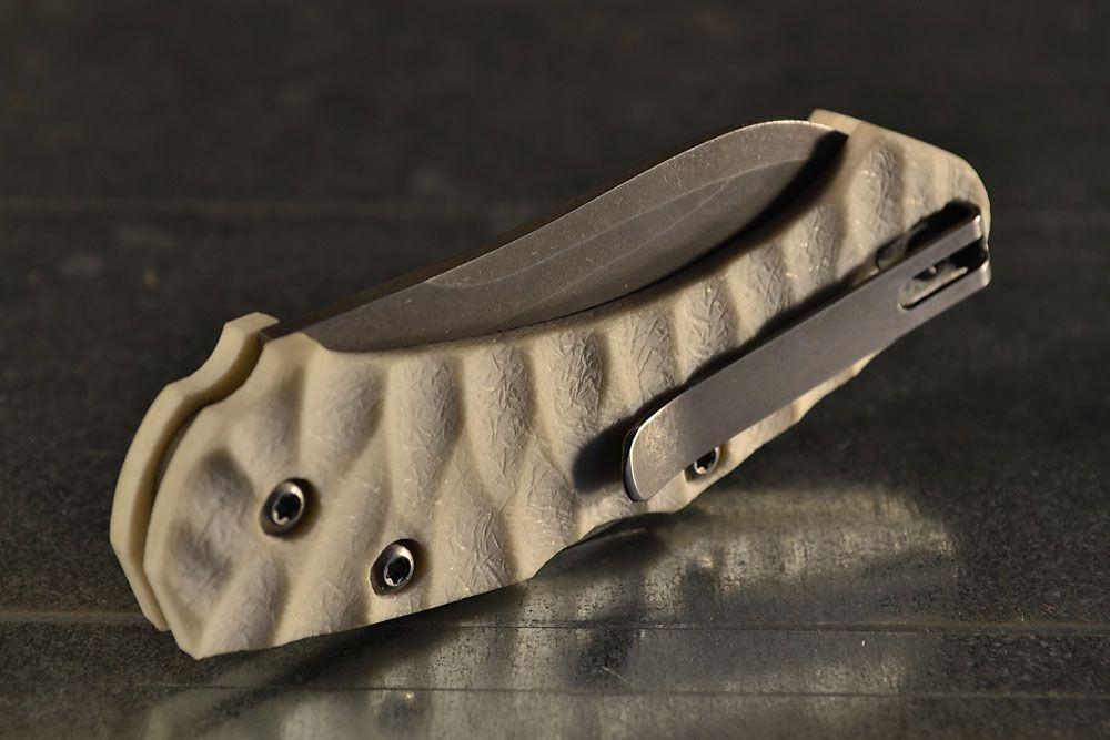 Anso scales | fox knives anso zero arctic custom made