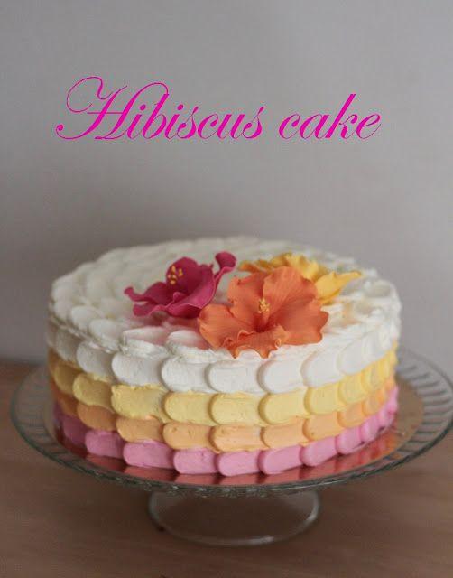 KakkuKatri: Hibiscus kakku