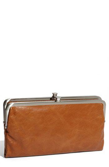 lauren leather double frame clutch - Double Frame Clutch Wallet