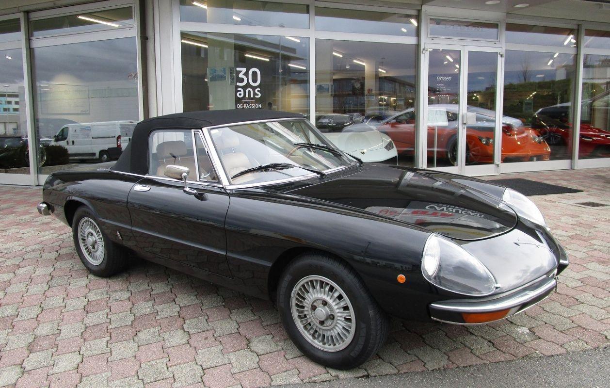 Alfa Romeo Spider Veloce Classic Driver Market ALFA - Alfa romeo spider 1980 for sale