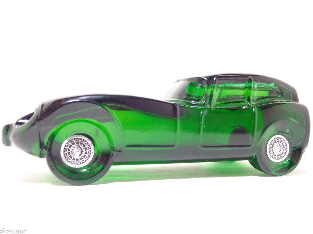 Vintage Avon Jaguar Car Decanter Deep Woods After Shave Bottle 5