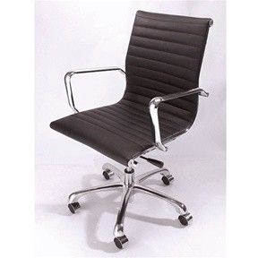 Mid-Back Modern Office Chair by Zuo Lider